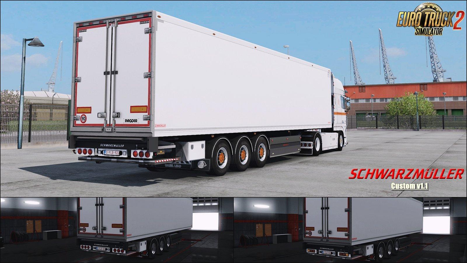 SCS Schwarzmuller Trailer Reworked v1.1 (1.32.x)