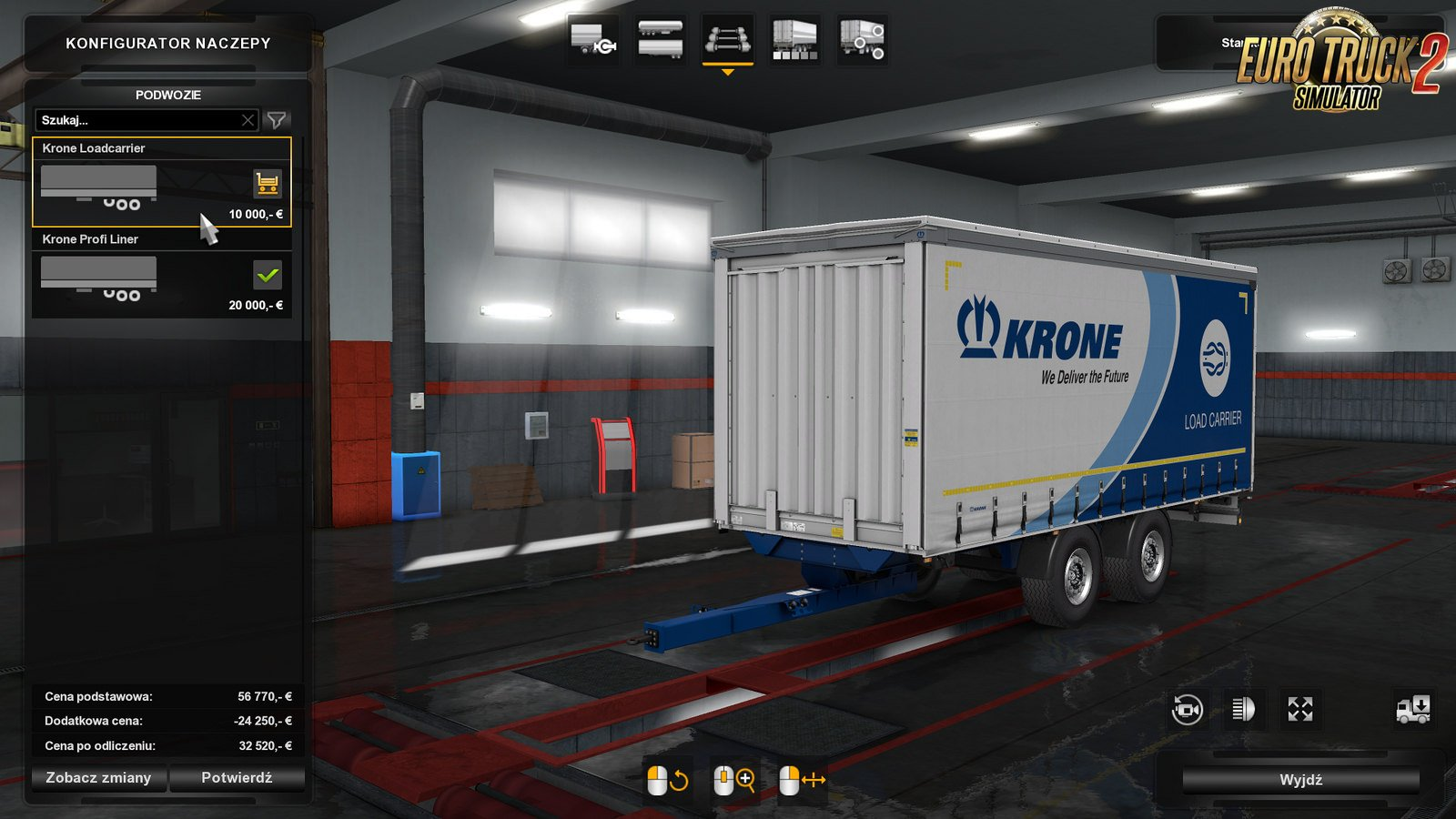 DLC Krone BDF addon by Pannickus for DAF XF 105 By Vad&k [1.32.x]