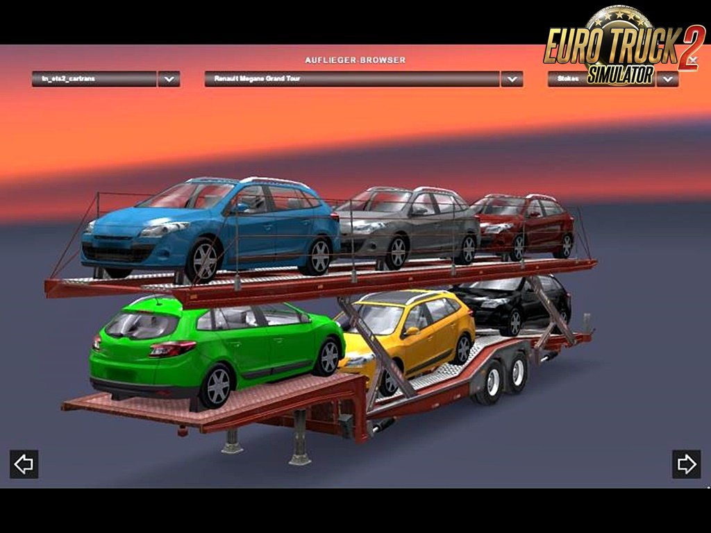 SCS Car Transporter Cargo v1.0 for Ets2 [1.32.x]