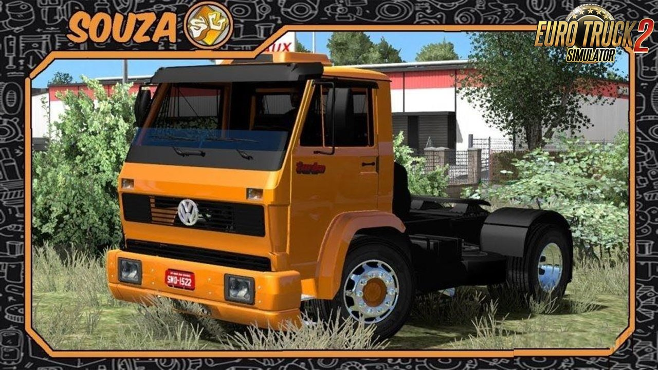 Volkswagen 16-200 for Ets2 [1.32.x]