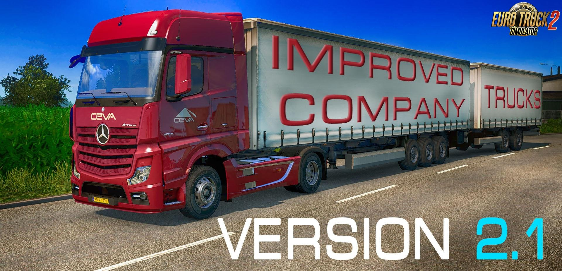 Improved company trucks v2.1 (1.32.x)