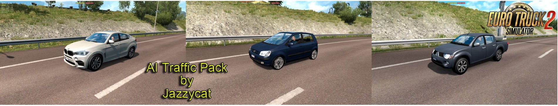 AI Traffic Pack v8.6 by Jazzycat [1.32.x]