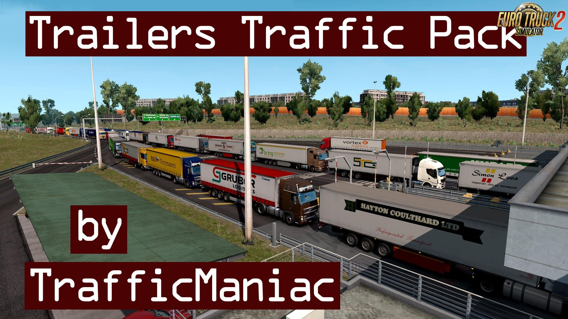 Trailers Traffic Pack v1.0 by TrafficManiac