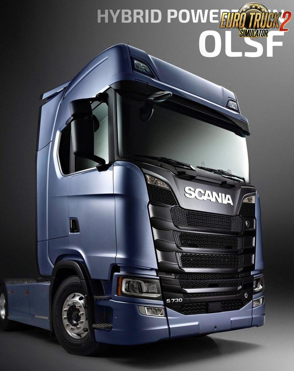 OLSF Hybrid Powertrain 2 for Scania S 2016 [1.32.x]