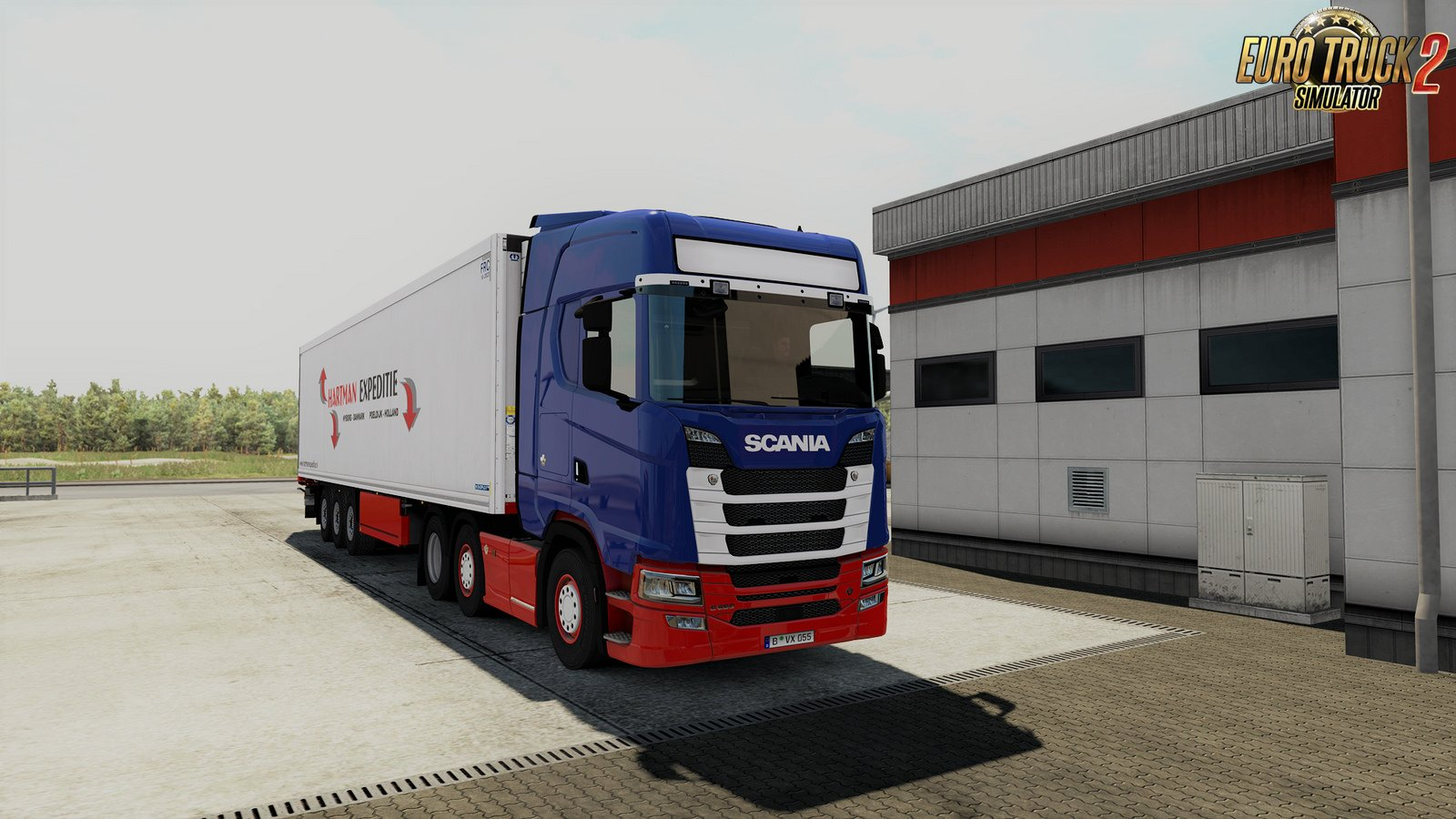 Light sign big for Scania NextGen v1.1 [1.32.x]