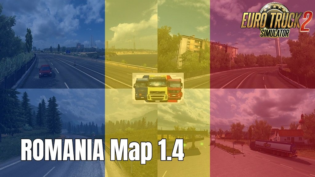 ROMANIA Map v1.4 by MIRFI (1.32.x)