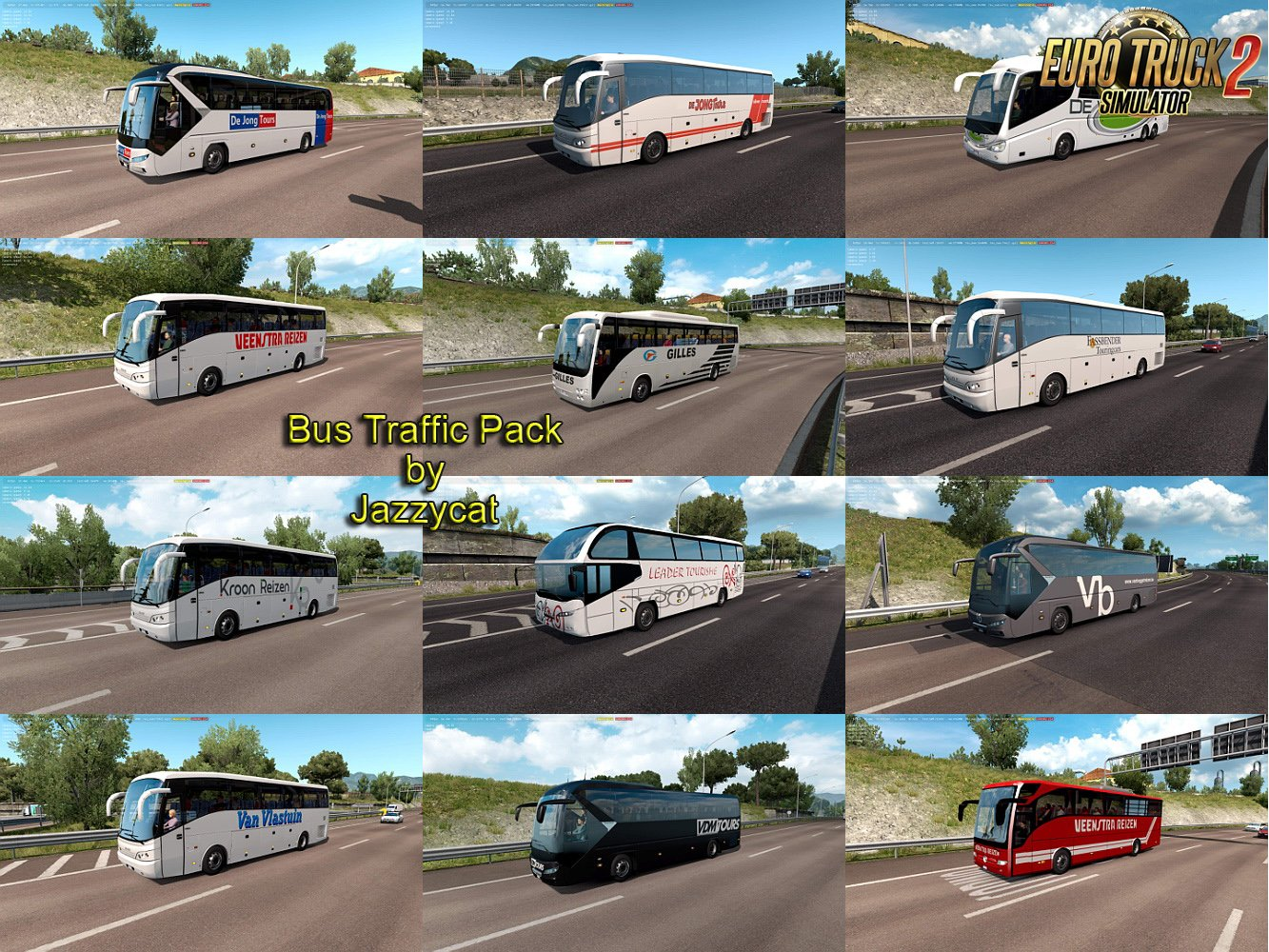 Bus Traffic Pack v5.5 by Jazzycat