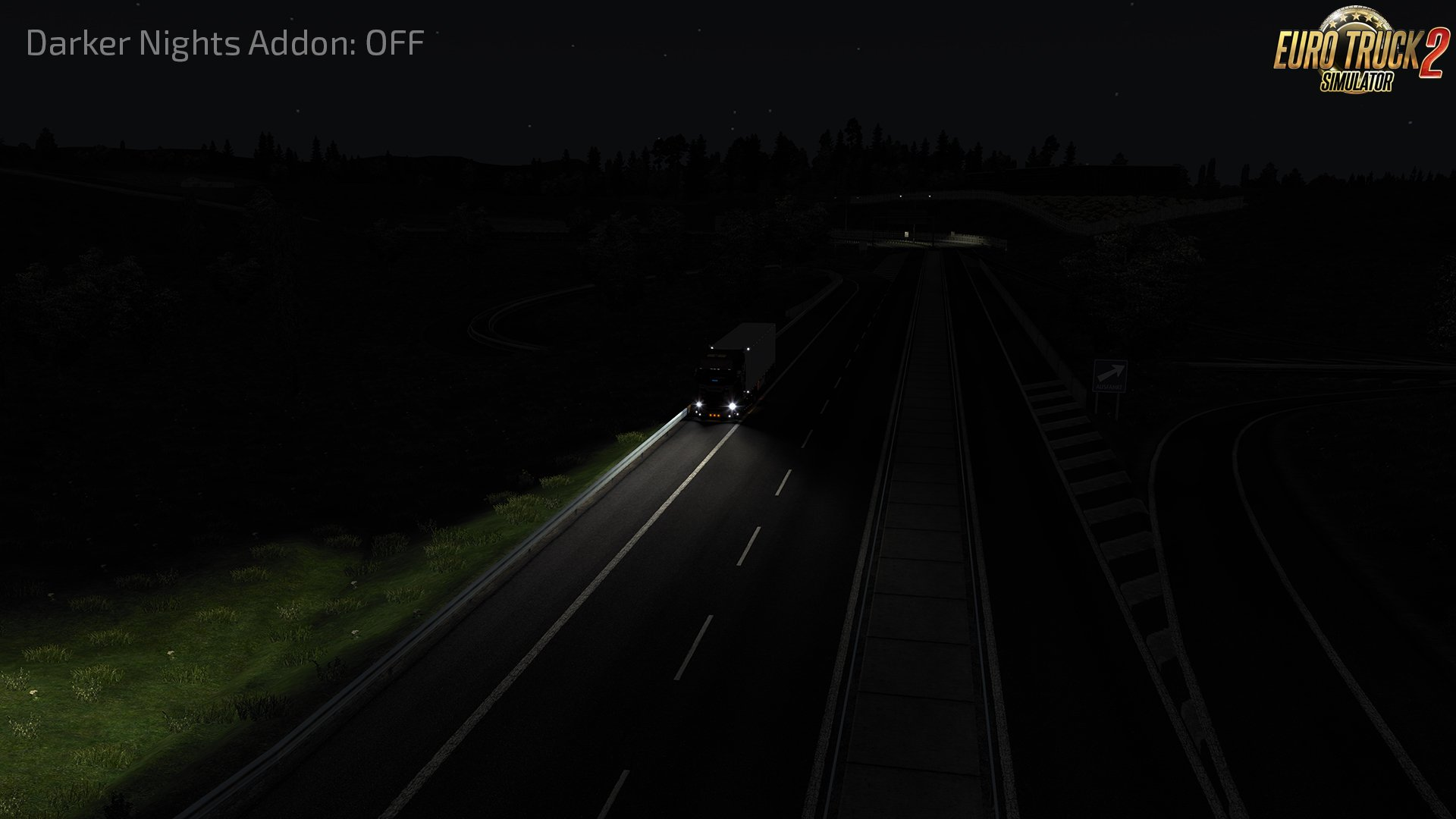 Darker Nights Add-on v1.4 for Realistic Graphics Mod (1.37.x)