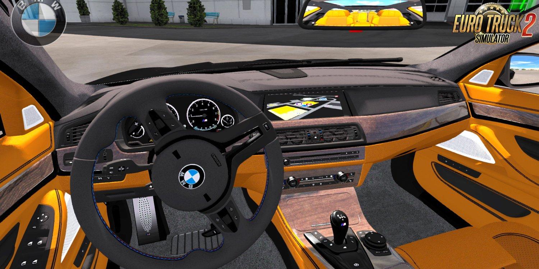 BMW M5 F10 + Interior v1.4 by Buraktuna24 (1.38.x)