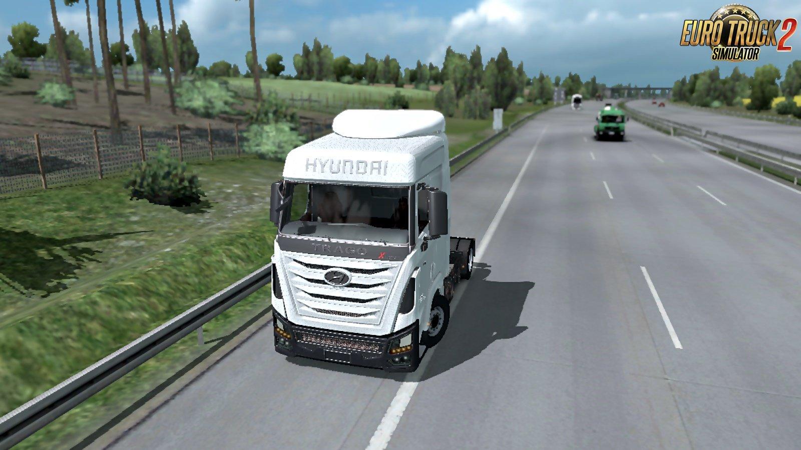 Hyundai Xcient Truck + Interior v0.2 (1.38.x)