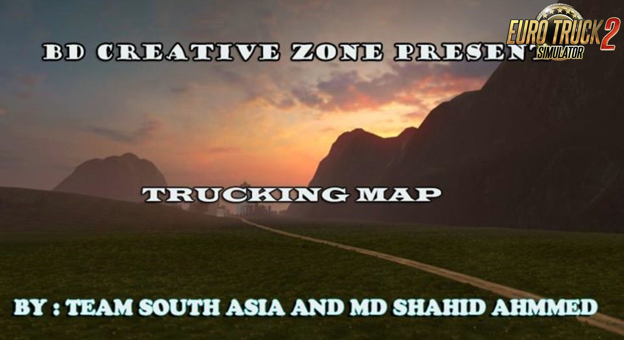 Creative Zone Trucking Map v1.3 (1.36.x) for ETS2