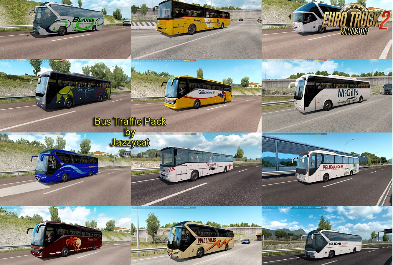 Bus Traffic Pack v9.9.1 by Jazzycat (1.38.x)