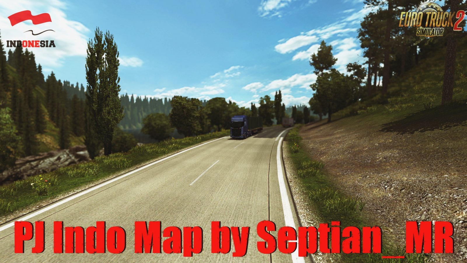 PJ Indo Map v2.7 (1.39.x) for ETS2