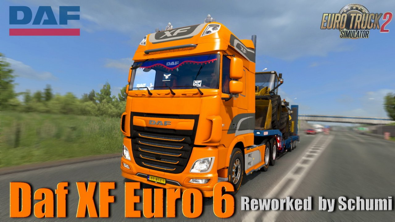 Daf XF Euro 6 Reworked v3.4 by Schumi (1.37.x)