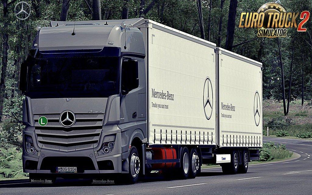 Mercedes Actros MP4 v1.6 Edit by Alex (1.37.x)