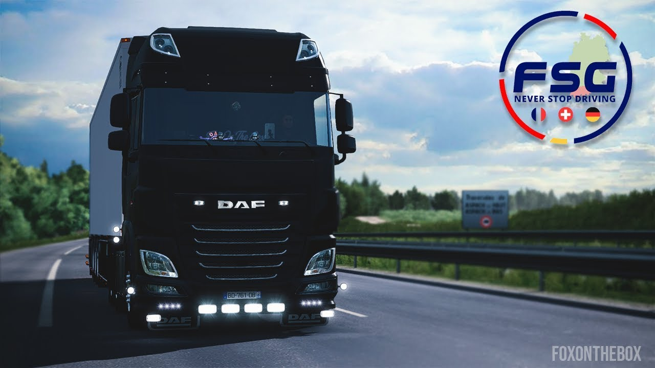 FSG Map Real Scale 1:1 v1.2.2 (1.38.x) for ETS2