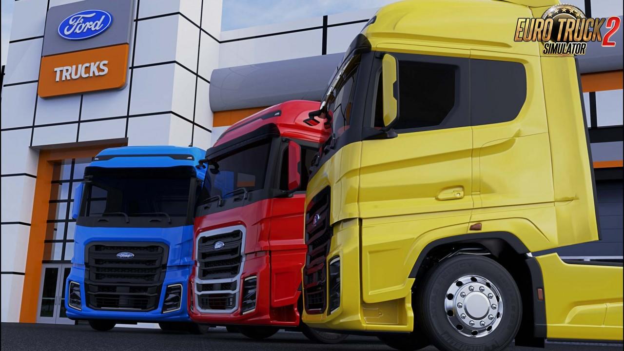 Ford Trucks F-MAX v2.0 by SimulasyonTURK (1.39.x)