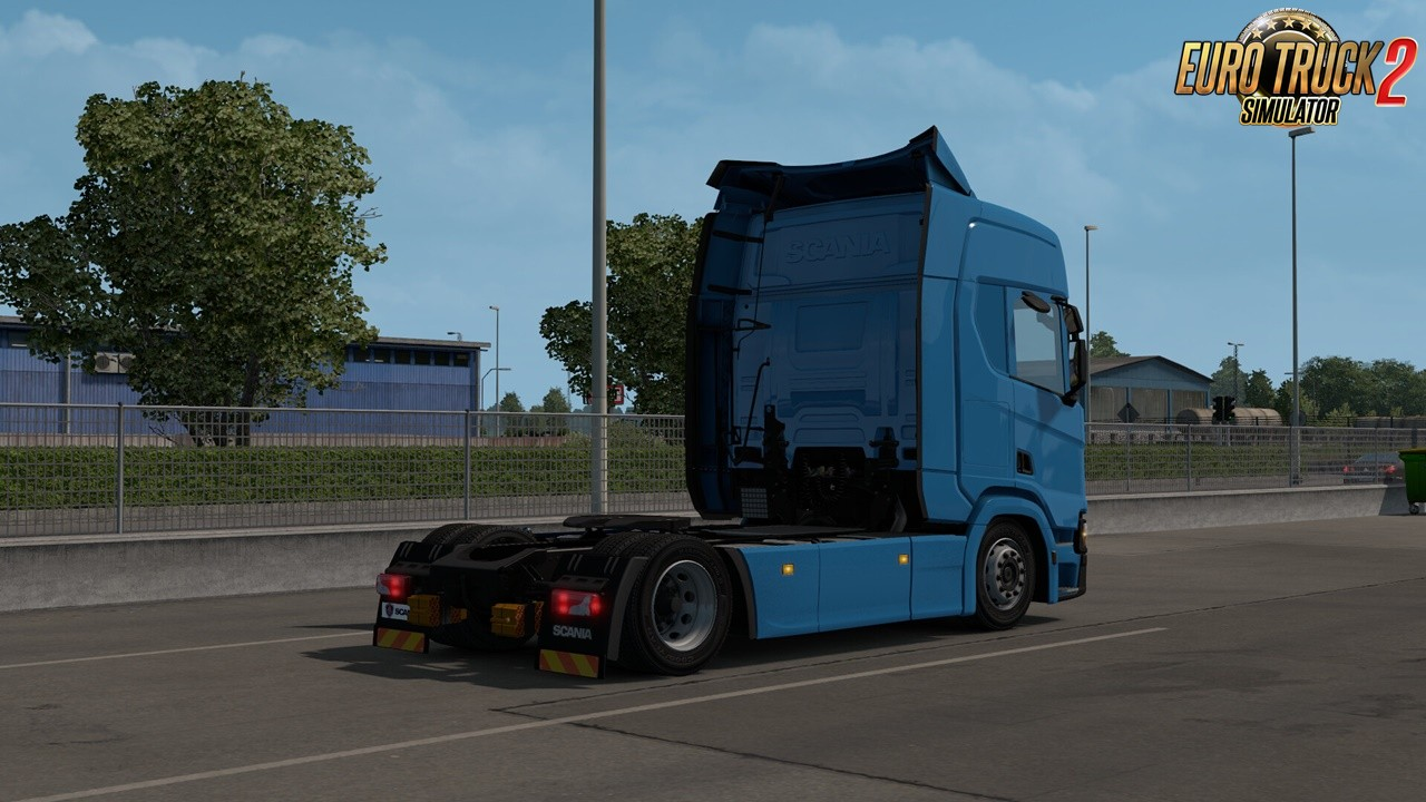Low Deck Chassis Addon for Eugene Scania NG by Sogard3 v1.5 (1.38.x)