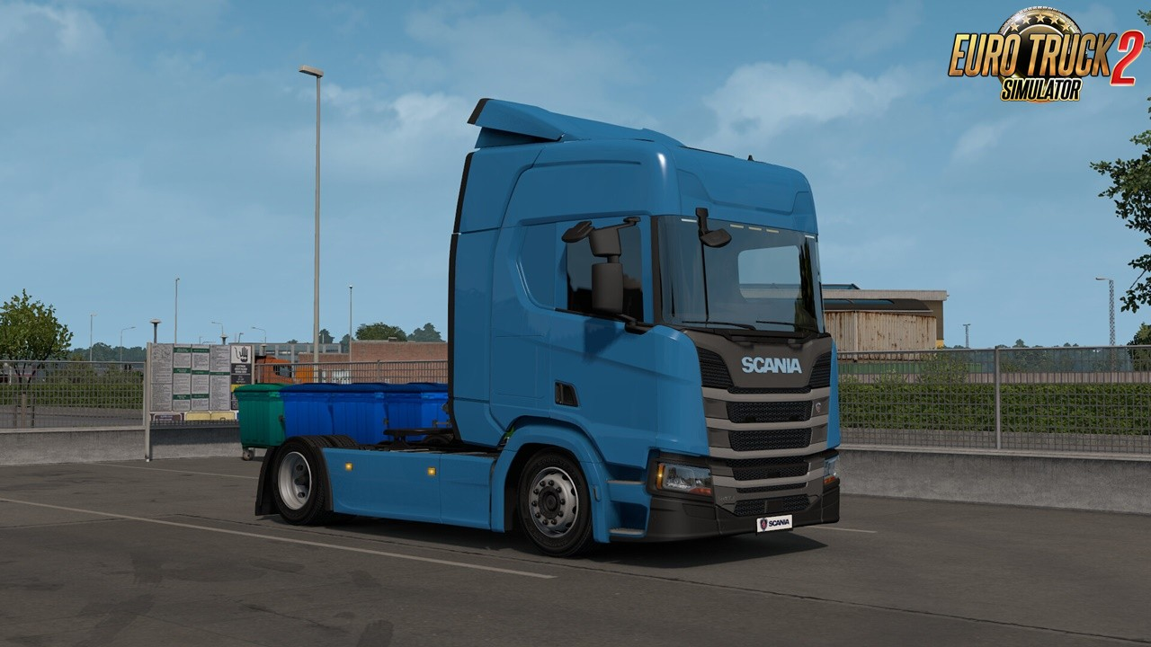 Low Deck Chassis Addon for Eugene Scania NG by Sogard3 v1.6 (1.39.x)