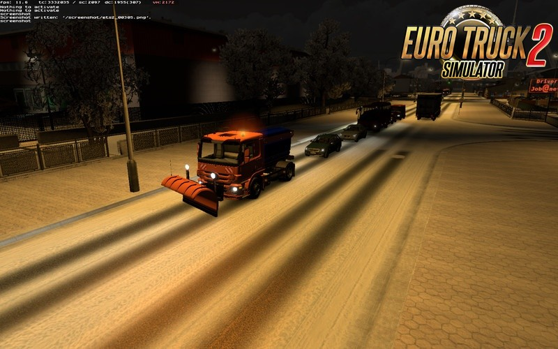 Henki A.I. Snow removal service in Traffic v1.3 [1.36.x]
