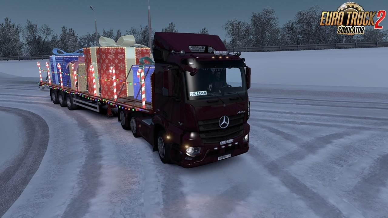 D3S Mercedes-Benz Antos 12 r1.36.2.x for Ets2