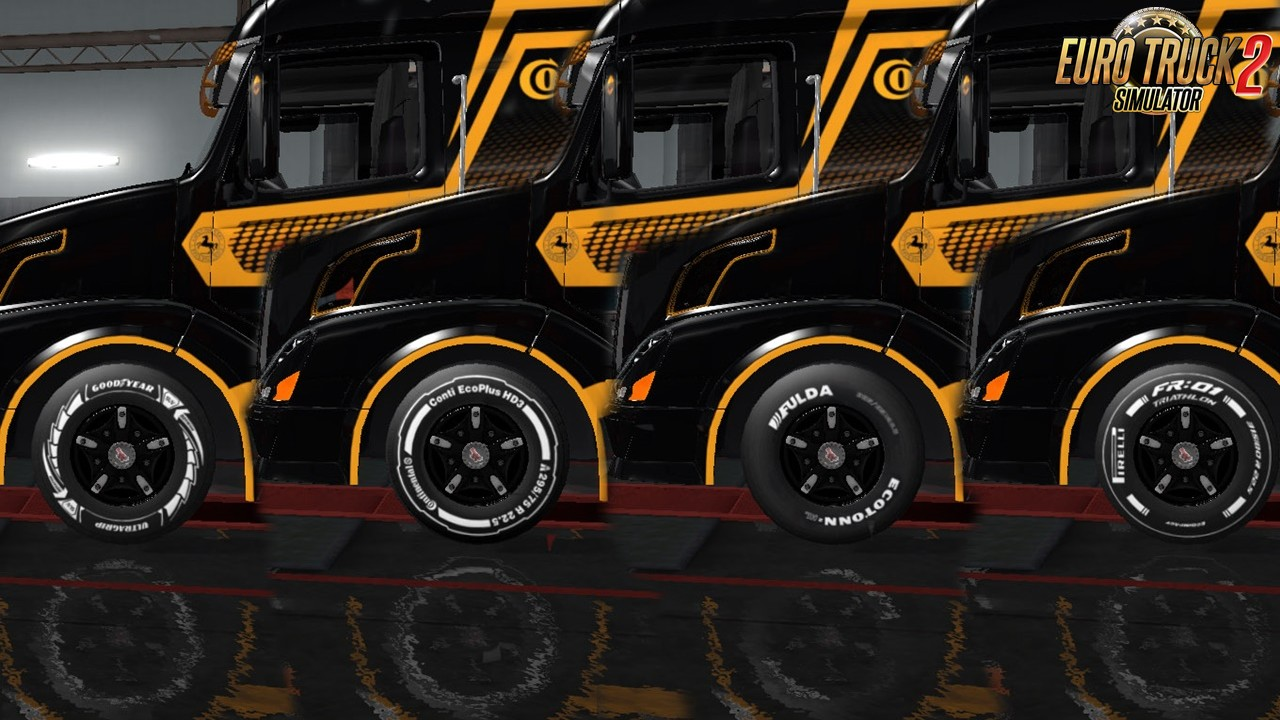Tire Pack for all Trucks and Trailers v4.5 for Ets2