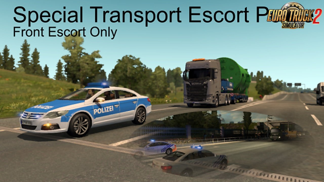 Special Transport Escort Police (Front Escort Only)