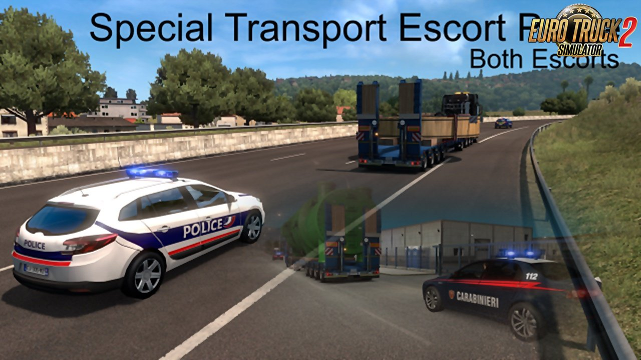 Special Transport Escort Police (Both Escorts)