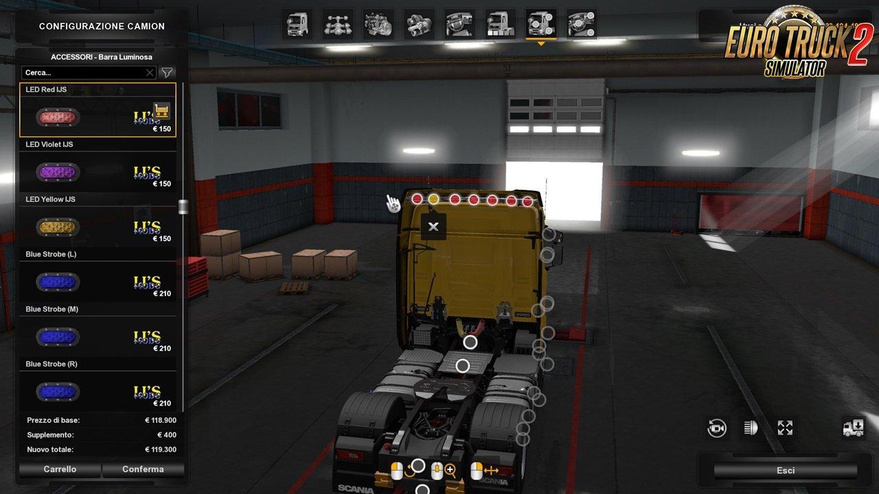 Scania R/S NG Airco Air Conditioner (1.36.x)