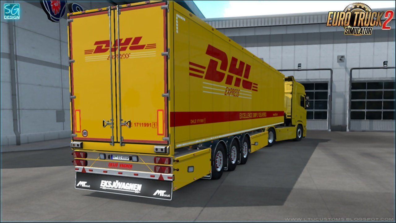 SCS Trailer Tuning Pack v1.6 by SGDESIGN (1.36.x)