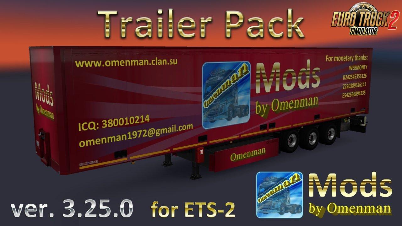 Big Trailer Pack v.2.25.0 by Omenman [1.36.x]