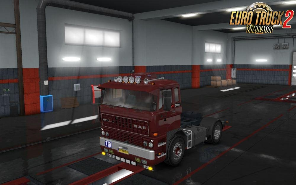 DAF F241 Jetta Addons for Ets2