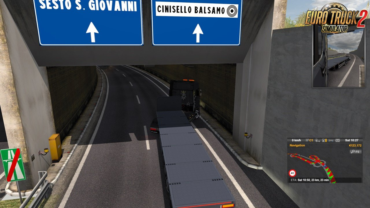 Milano Tunnel Fix for ProMods Map 2.43 (1.36.x)