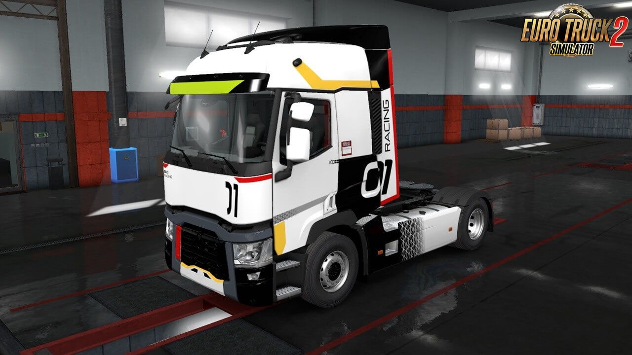 Mod Racing Skin for Renault T Range (SCS)