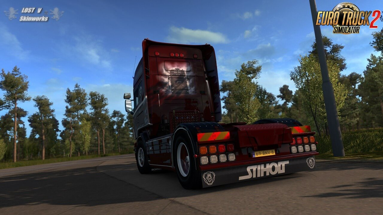 Røling Transport Scania R Combo Skin by Lost Virtual