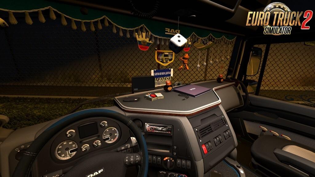 Trucks Interior view v1.01 for Ets2