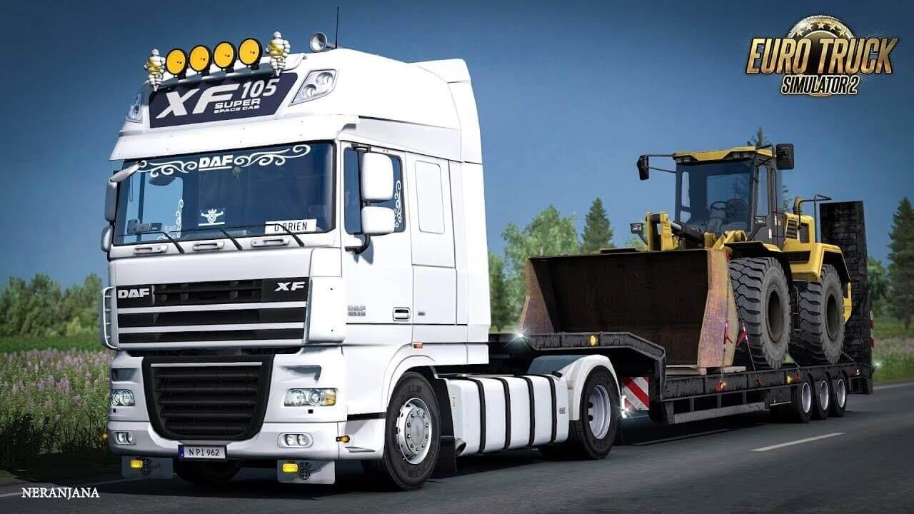 DAF XF 105 v6.10 by vad&k - Euro Truck Simulator 2