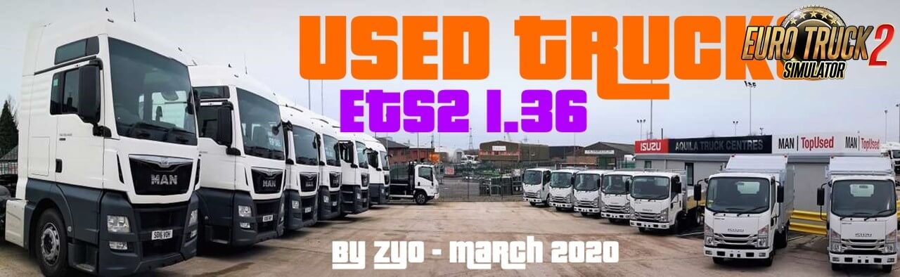 Used truck mod beta 98.c for Ets2 (1.37.x)