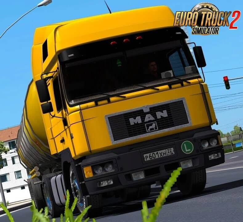 MAN F2000 414 Comandor + Interior v1.0 (1.36.x)