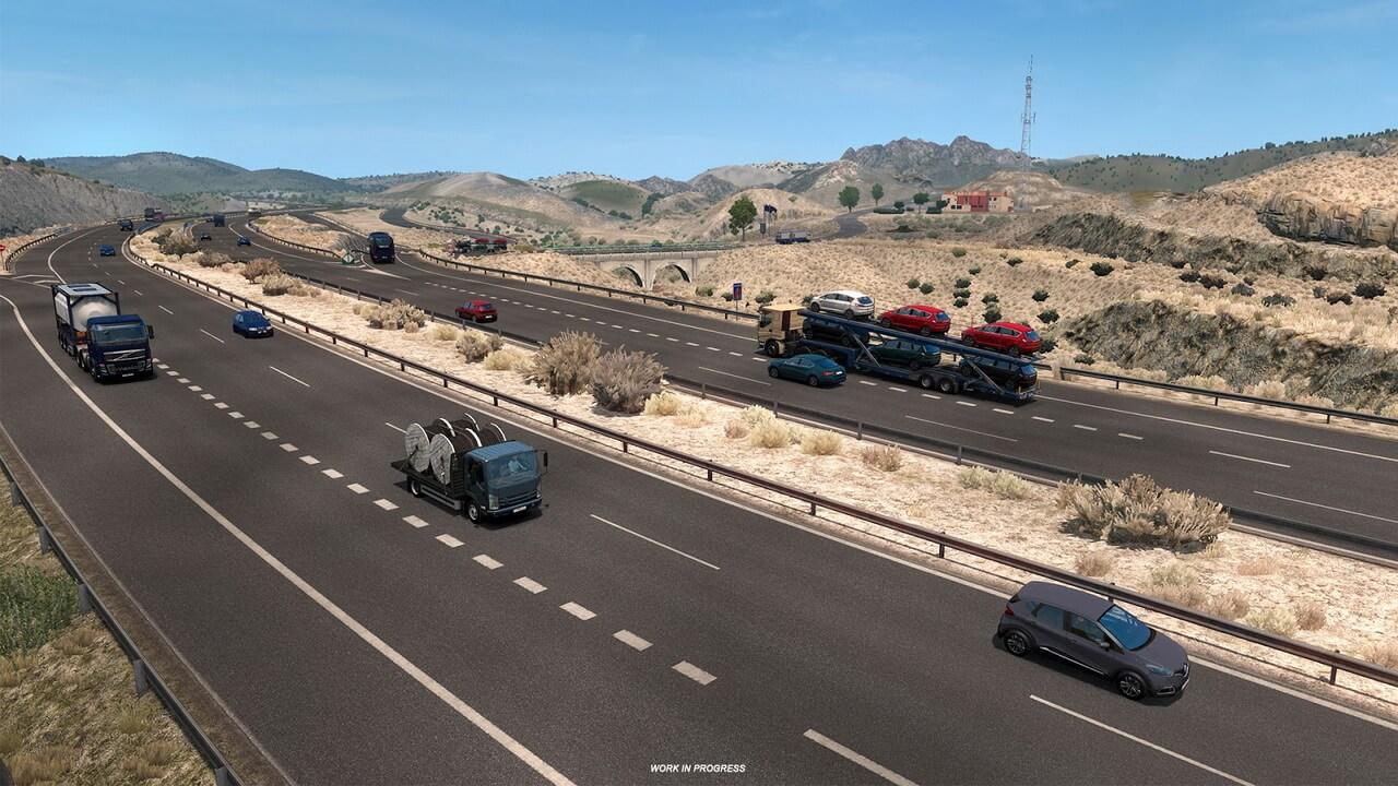 Deserts of Iberian DLC Peninsula for ETS 2