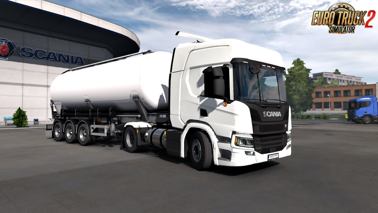 Liquified Natural Gas Tanks for Eugenes Scania NG (1.36.x)