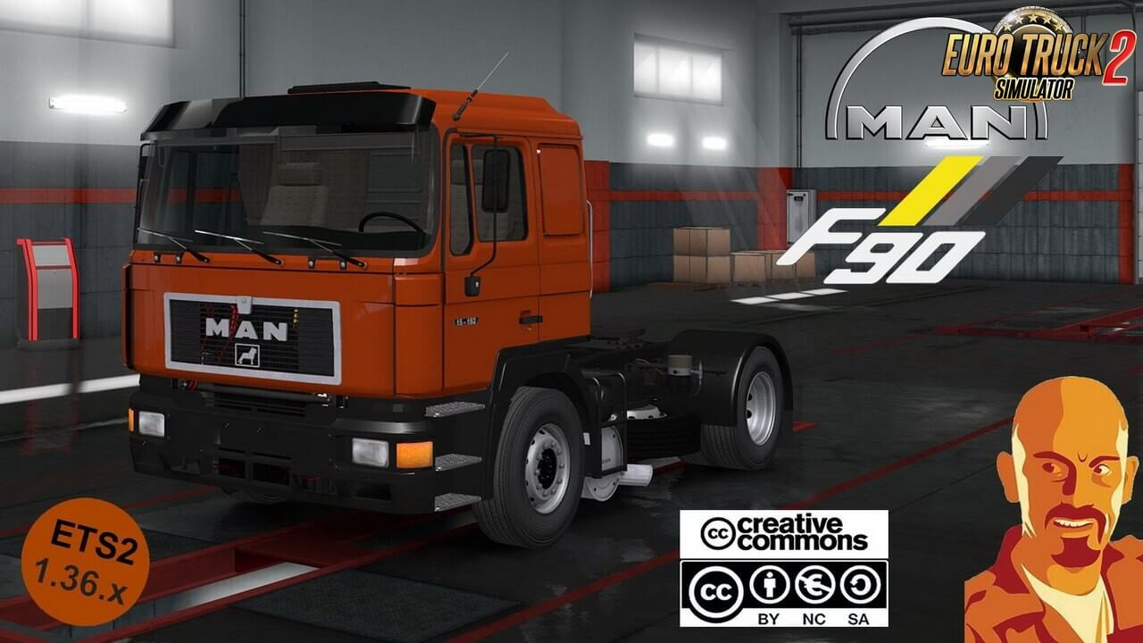 MAN F90 v1.0 ReWorked by CyrusTheVirus (1.36.x)