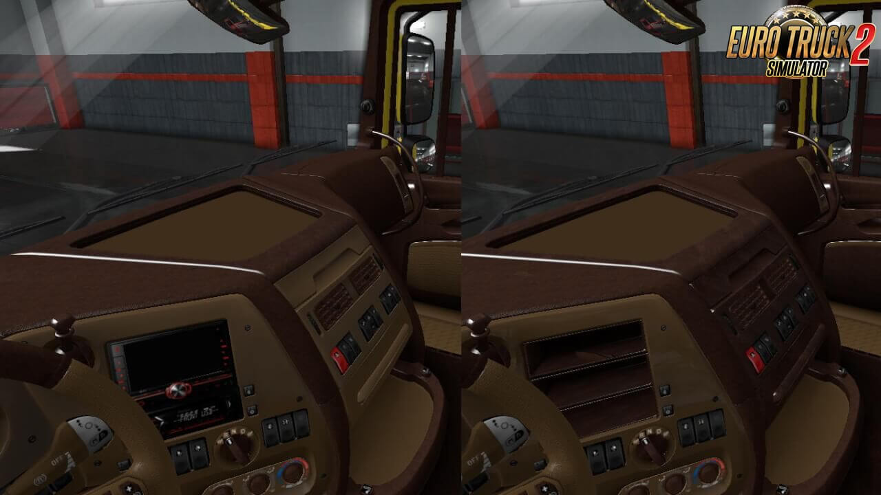 Interior for DAF XF 105 v2.2 by griva74 (1.36.x)