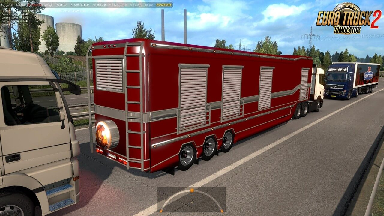 Caravan Trailer in Traffic (1.36.x)