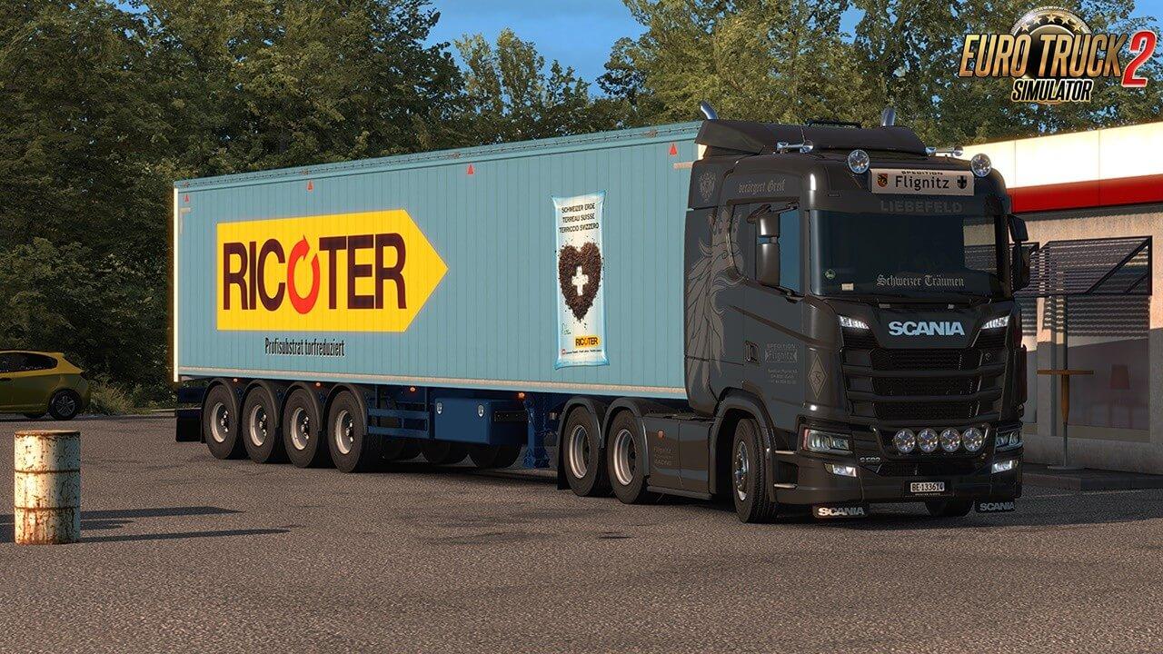 Flignitz Swiss Trailer (and trucks) skins pack