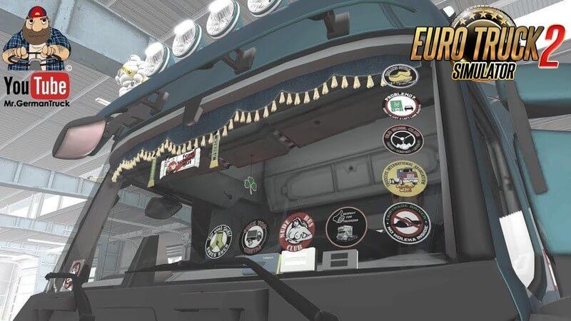 GlassStickers for All Trucks v1.0 (1.36.x)
