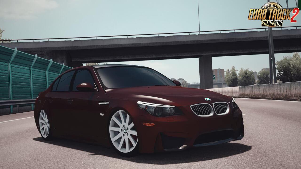 BMW 5 Series E60 + Interior v1.0 (1.37.x)