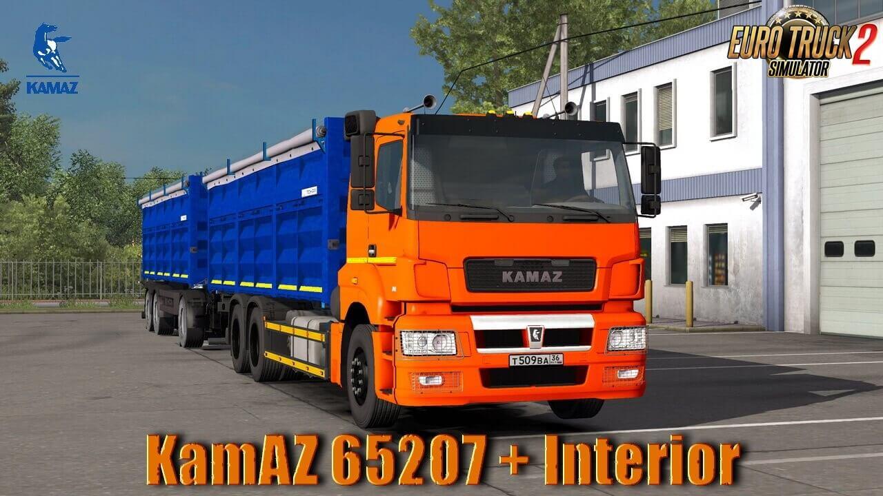 KamAZ 65207 + Interior v1.0 (1.36.x)