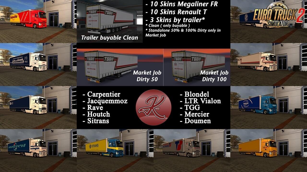Kriistof Skin Pack FR Megaliner for Ets2