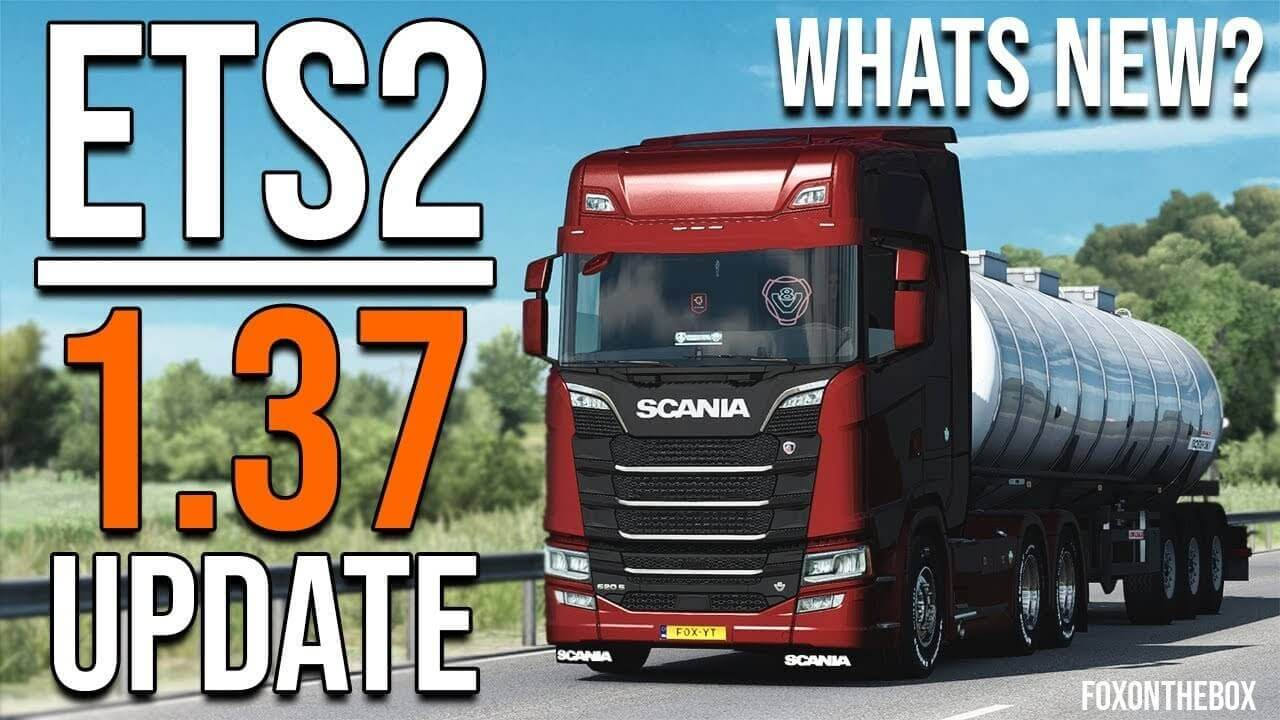 ETS 2 Update 1.37 - Euro Truck Simulator 2